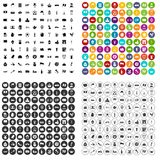 100 europe countries icons set vector variant. 100 europe countries icons set vector in 4 variant for any web design isolated on white vector illustration