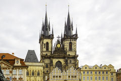 Europe; Czech; church; republic; building; architecture; religio Royalty Free Stock Image