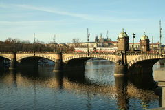 Europe czech republic prague bridge Royalty Free Stock Images