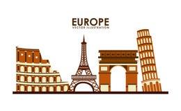 Europe design Stock Photo