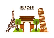 Europe design Stock Photos