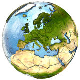 Europe on Earth Stock Photography