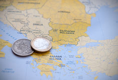 Europe Financial Crisis Stock Images