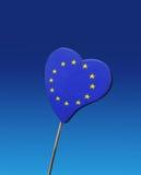 Europe flag Royalty Free Stock Photos