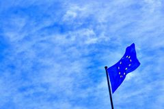 Europe flag Royalty Free Stock Photo