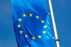 Europe flag Stock Photos