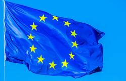 The Europe Flag Royalty Free Stock Photography