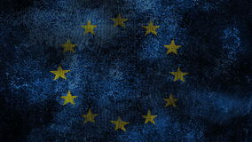 Europe flag Royalty Free Stock Photos