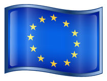 Europe Flag Icon Stock Images