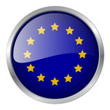 Europe flag vector illustration Stock Image