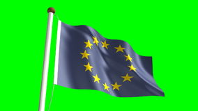Europe flag Stock Images