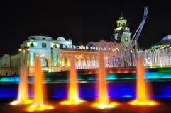 europe fontanny Kiev gwałta stacja Obrazy Royalty Free