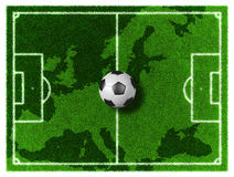 Europe Football Royalty Free Stock Image