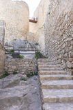 Europe, fortress and castle of Consuegra in Toledo, Spain. medie Royalty Free Stock Image