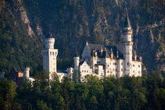 Europe Germany. Germany castle under a clear sky in a valley royalty free stock photos