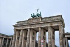 Europe. Germany. Quadriga on Top of the Brandenburg Gate in Berlin.  stock images