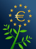 Europe Growth. Smart investors, come and invest in Europe, Europe Growth Stock Photo