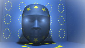 Europe - Head - Animation Stock Photos