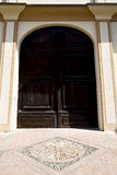 europe  italy  lombardy        the milano old    closed brick Royalty Free Stock Photo