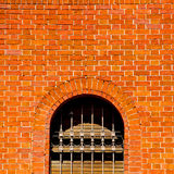 In europe italy milan old    architecture and venetian blind wall Stock Photos