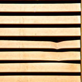 In europe italy milan old architecture and venetian blind wall Stock Photo