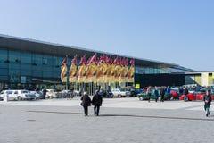 """Europe' la exposición clásica más grande """" del coche de s; CLASSICS"""" RETRO; imágenes de archivo libres de regalías"""