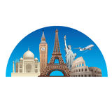 Europe landmarks Stock Image