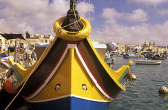 EUROPE MALTA MARSAXLOKK Stock Photography