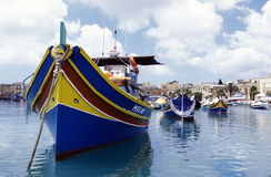 EUROPE MALTA MARSAXLOKK Royalty Free Stock Photography