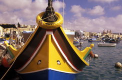 EUROPE MALTA MARSAXLOKK Royalty Free Stock Images