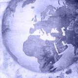 Europe map-vintage artwork Royalty Free Stock Images