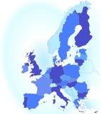 europe mapy zjednoczenie ilustracja wektor