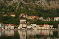 Europe. Mediterranean area. Adriatic sea. Croatia. Touristic town near the water Autumn 2012. Europe. Mediterranean area. Adriatic sea. Croatia. Touristic town stock photos