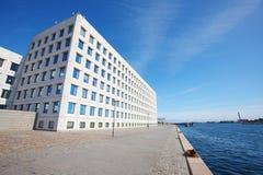Europe modern buildings Royalty Free Stock Image