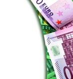 Europe money background Royalty Free Stock Photo