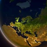 Europe at night Stock Photos