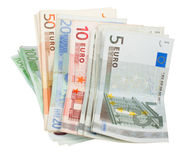 Europe notes Royalty Free Stock Photos