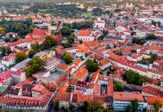 Europe old town Vilnius Stock Images