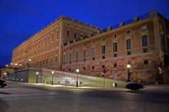 europe pałac królewski Stockholm Sweden Obrazy Royalty Free