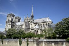 Europe, Paris, cruise on the Seine on the Bateaux Mouches Royalty Free Stock Photos