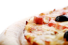 Europe pizza Stock Images