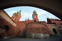 EUROPE POLAND CRACOW HAWAL Royalty Free Stock Photography