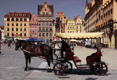 EUROPE POLAND WROCLAW Royalty Free Stock Photography