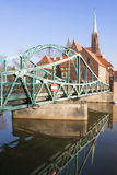 Europe. Poland. Wroslaw Bridges Stock Images