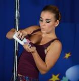 EUROPE POLE DANCE CHAMPIONSHIP Stock Photography