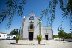 EUROPE PORTUGAL ALGARVE ALMANCIL CHURCH Royalty Free Stock Image