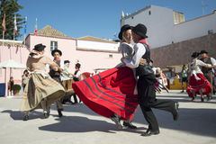 EUROPE PORTUGAL ALGARVE LOULE TRADITIONAL DANCE Stock Image