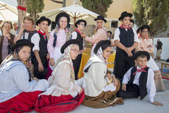 EUROPE PORTUGAL ALGARVE LOULE TRADITIONAL DANCE Stock Photo