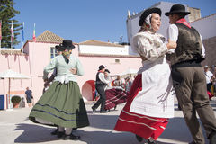 EUROPE PORTUGAL ALGARVE LOULE TRADITIONAL DANCE Stock Photography