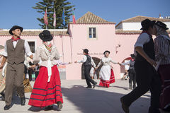 EUROPE PORTUGAL ALGARVE LOULE TRADITIONAL DANCE Stock Photos
